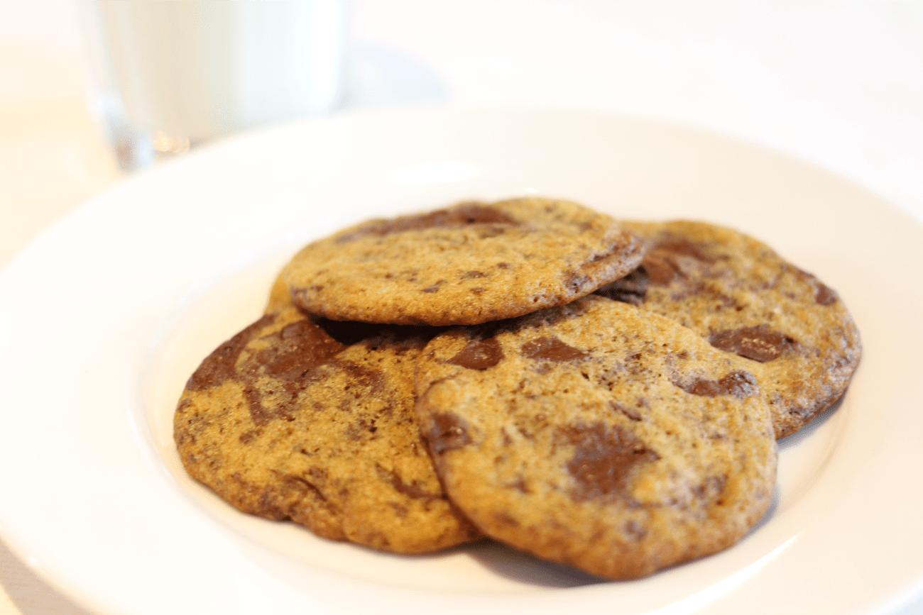 Biscuits COOKIES aux brisures de chocolat noir