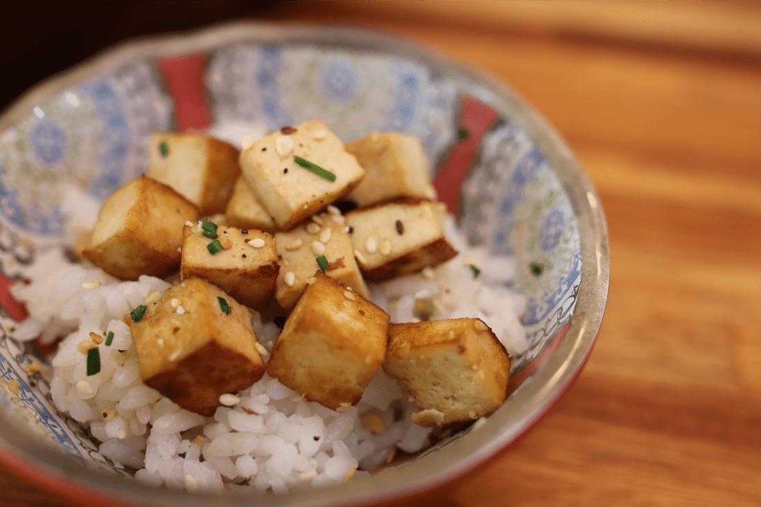Tofu sauté à l'asiatique