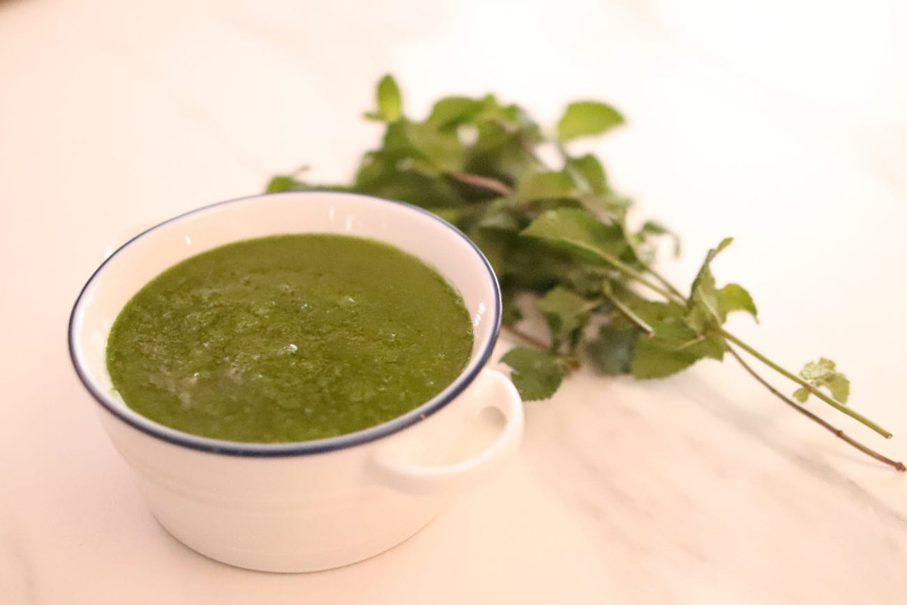 Salsa verde italienne persil-menthe