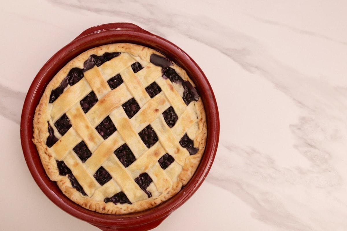 La meilleure tarte aux bleuets (myrtilles, brimbelles) traditionnelle