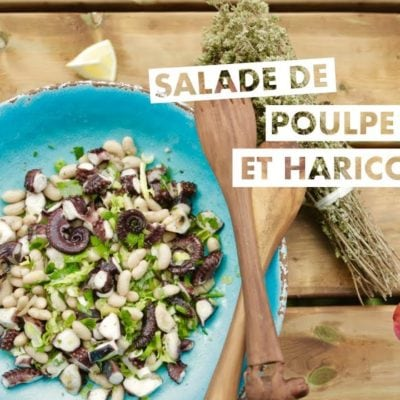 poulpe (pieuvre) en salade