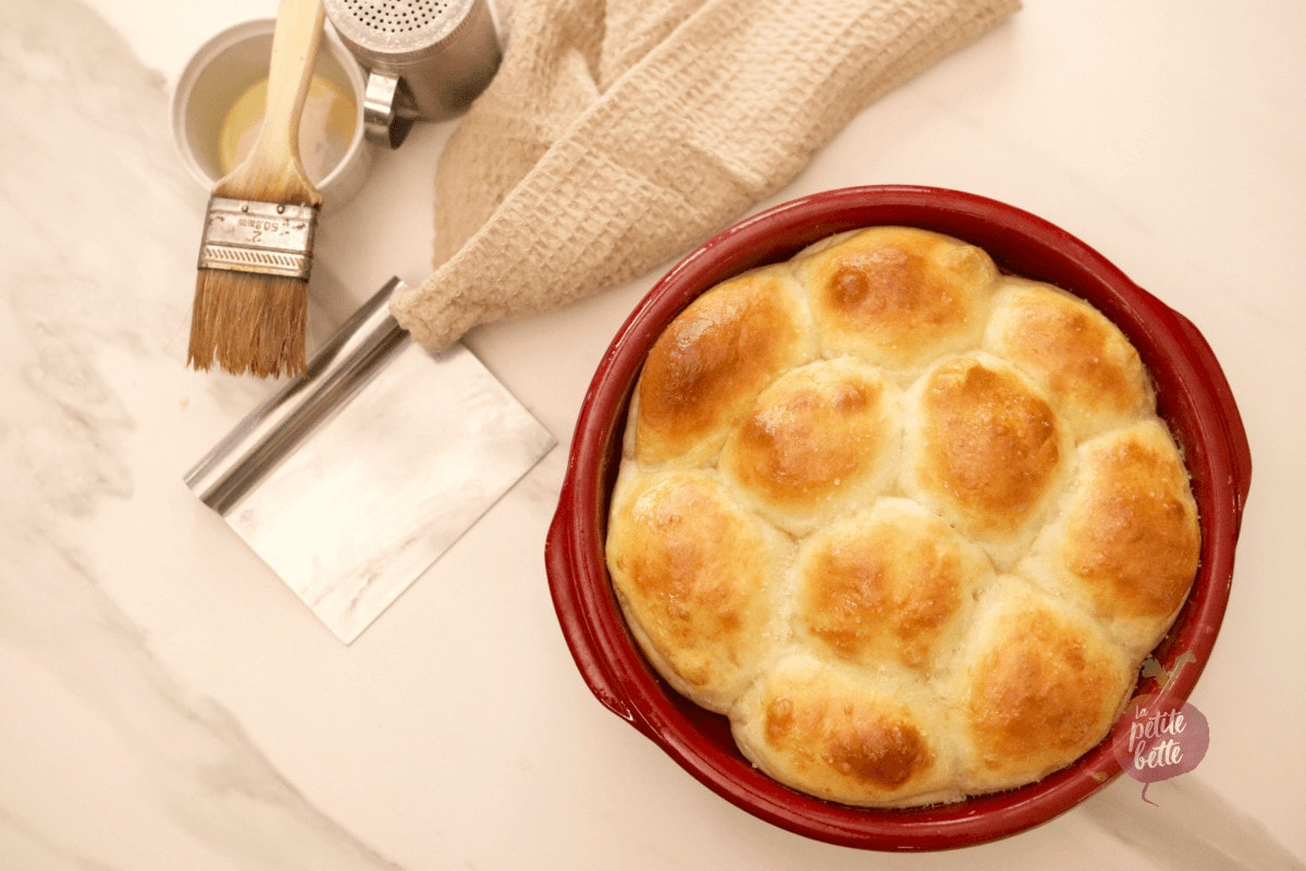 Petits pains chaud briochés