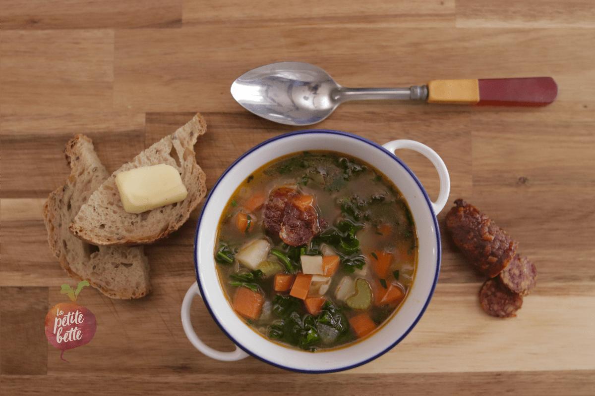Ma soupe aux légumes pas ordinaire