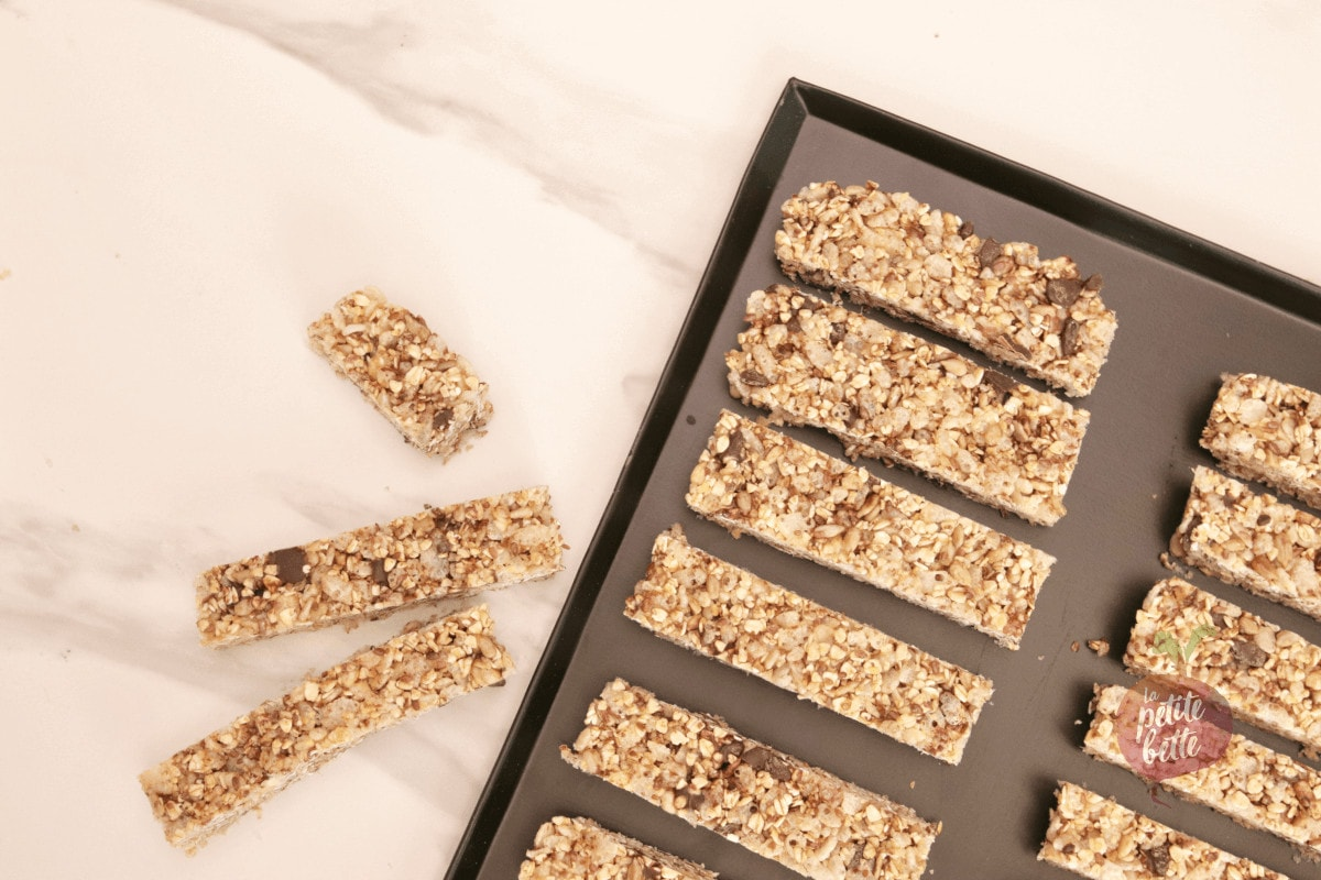 barres granola collation