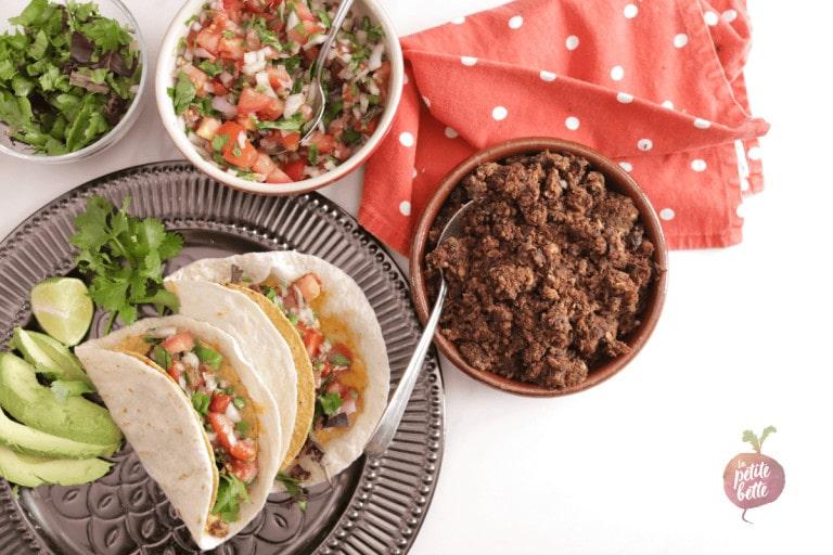Meilleur tacos vegan sans viande
