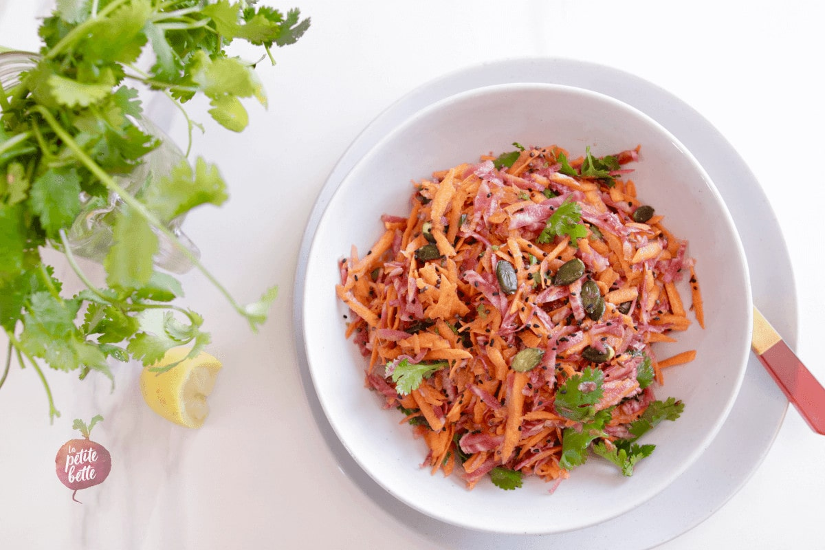 salade de carotte râpée