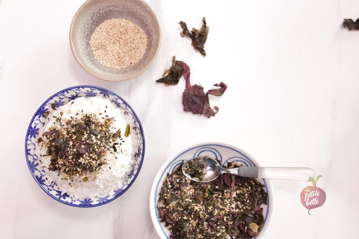 assaisonnement algues japonais
