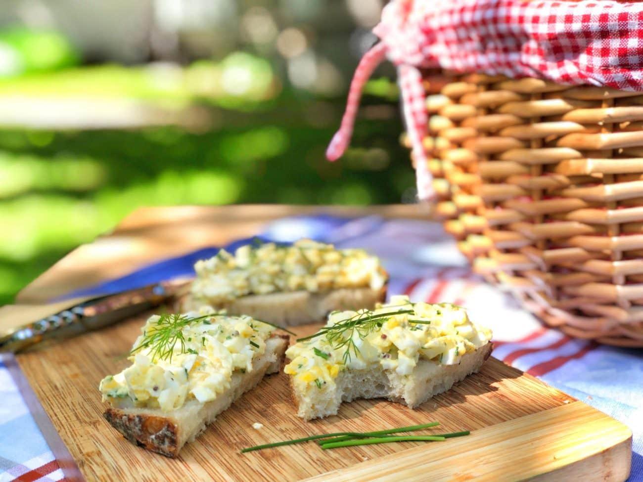 La meilleure salade aux oeufs (Sandwich aux oeufs)
