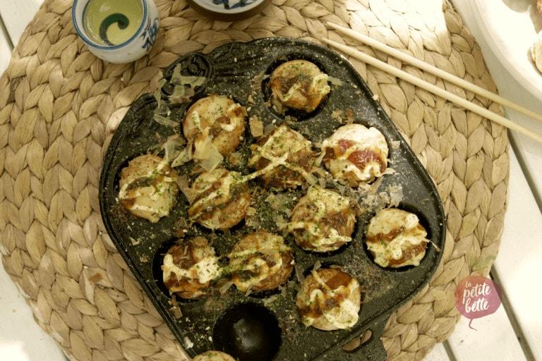 Recette takoyaki japonais maison