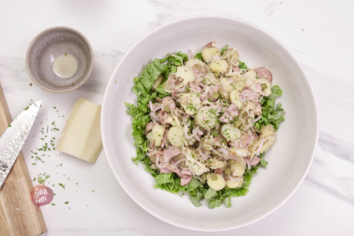 salade de saucissons