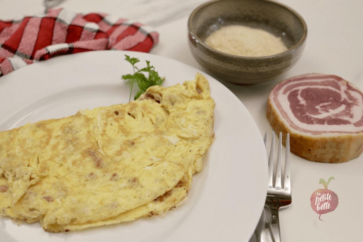 Recette d'omelette facile et rapide