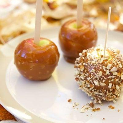 Pommes d'amour au caramel