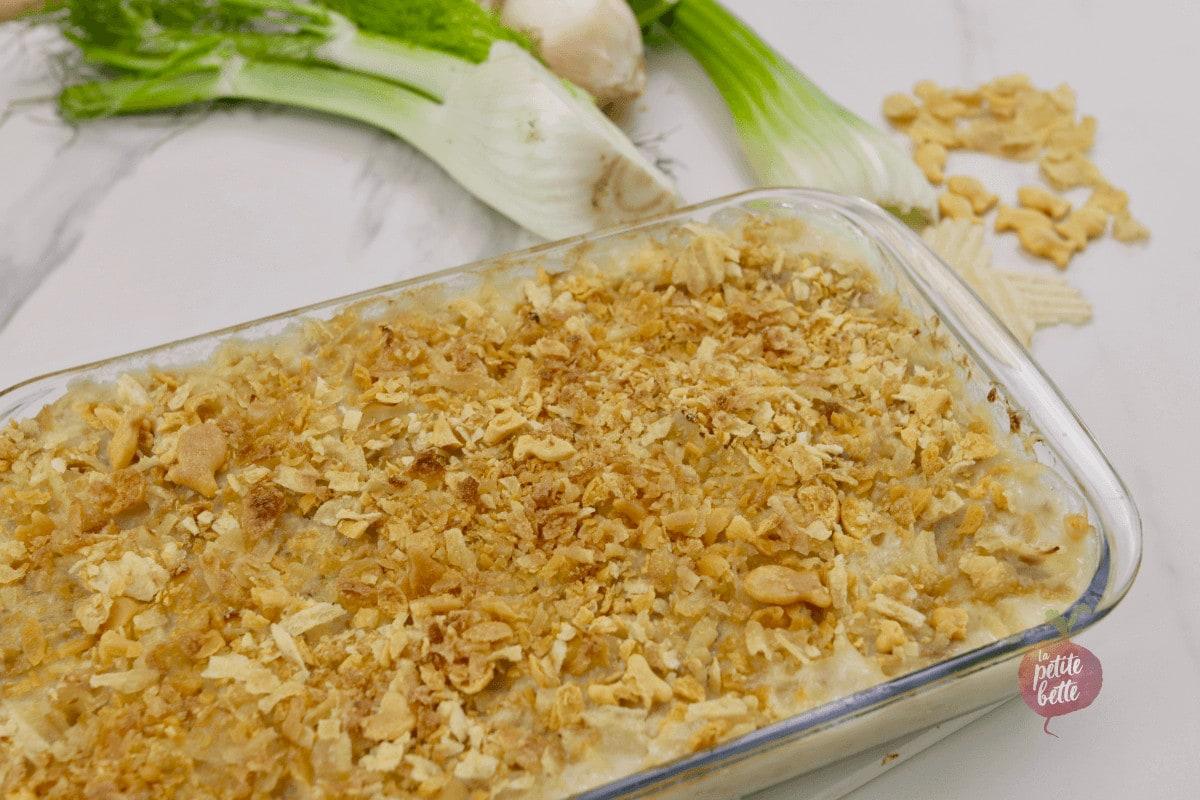 Gratin de pâtes au thon - Tuna Casserole
