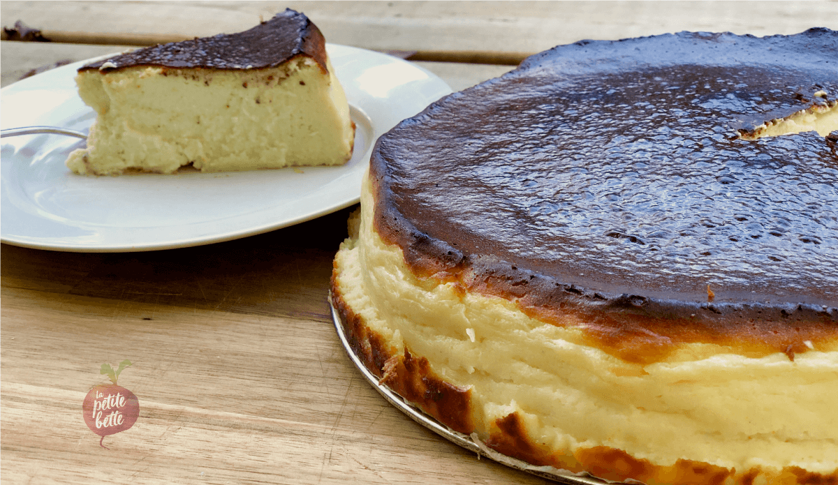 Gâteau au fromage basque – Le meilleur Cheesecake au MONDE