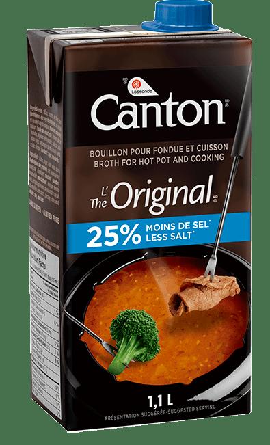 25% moins de sel