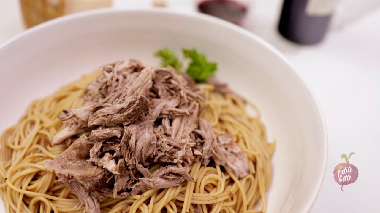 Spaghetti brun