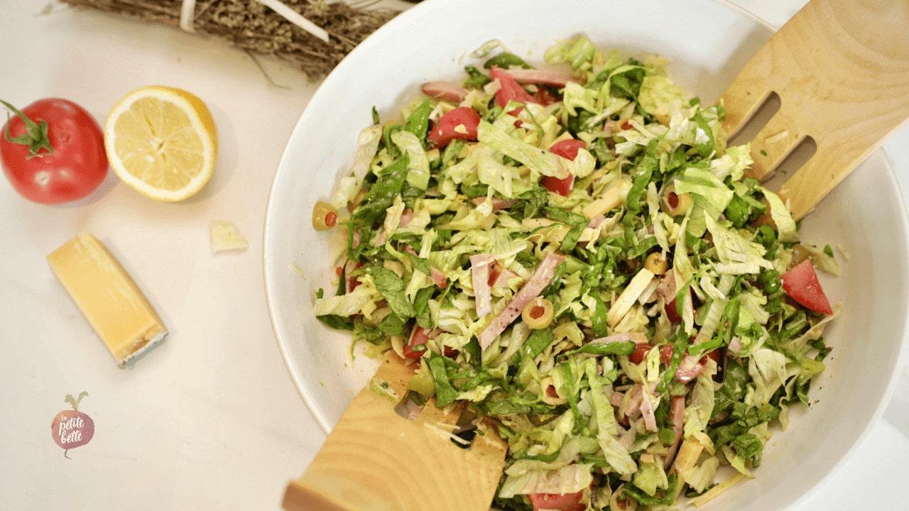 salade repas 1905
