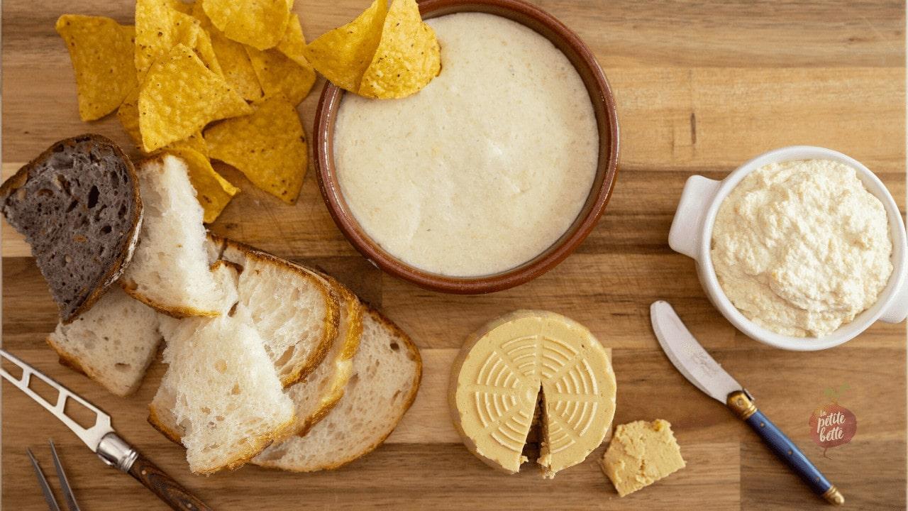 Fauxmage ou fromage végétalien