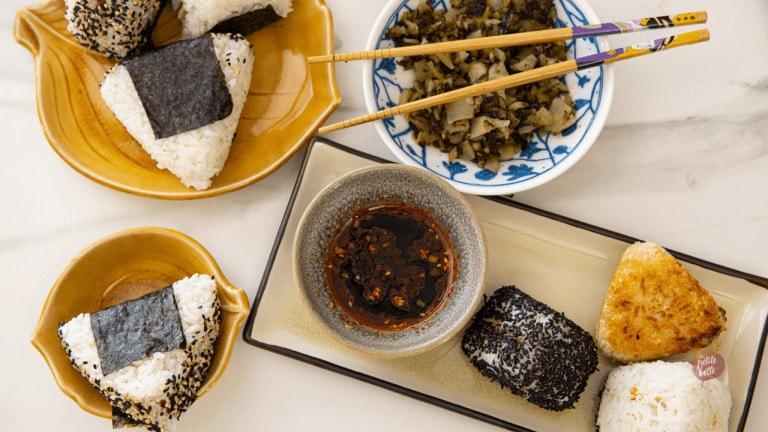 onigiri boite bento sandwich japonais