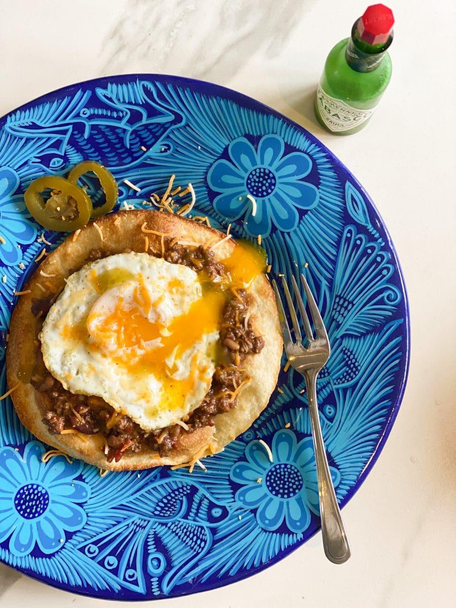Petit déjeuner mexicain au chili