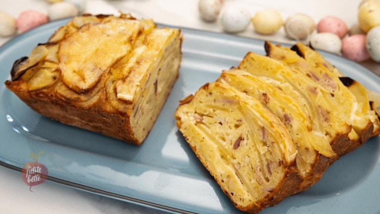 Cake salé style tartiflette