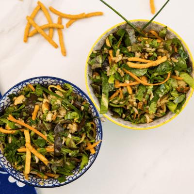 recette salade avec restes de riz