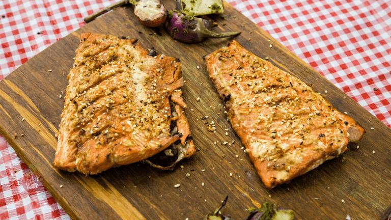 Recette poisson saumon bbq miso