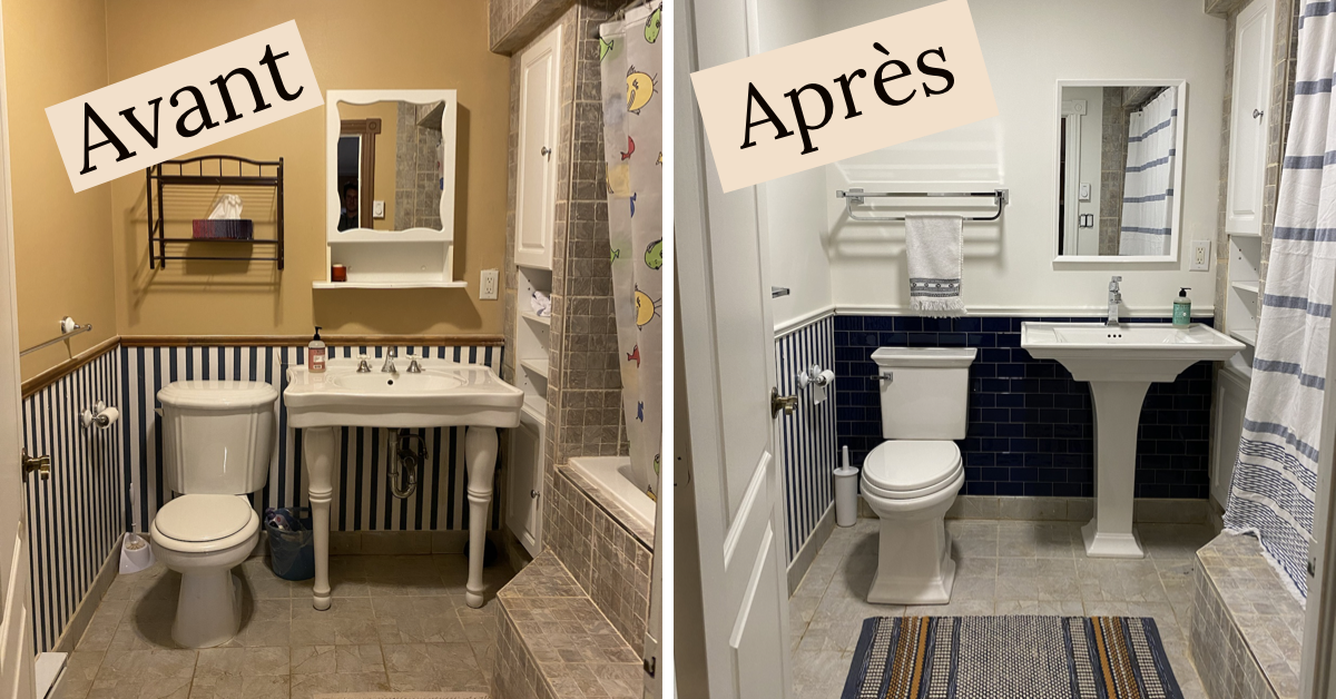 DIY reno salle de bain