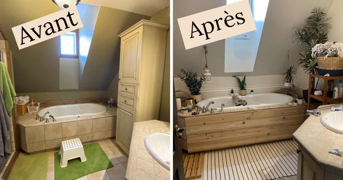 DIY réno salle de bain