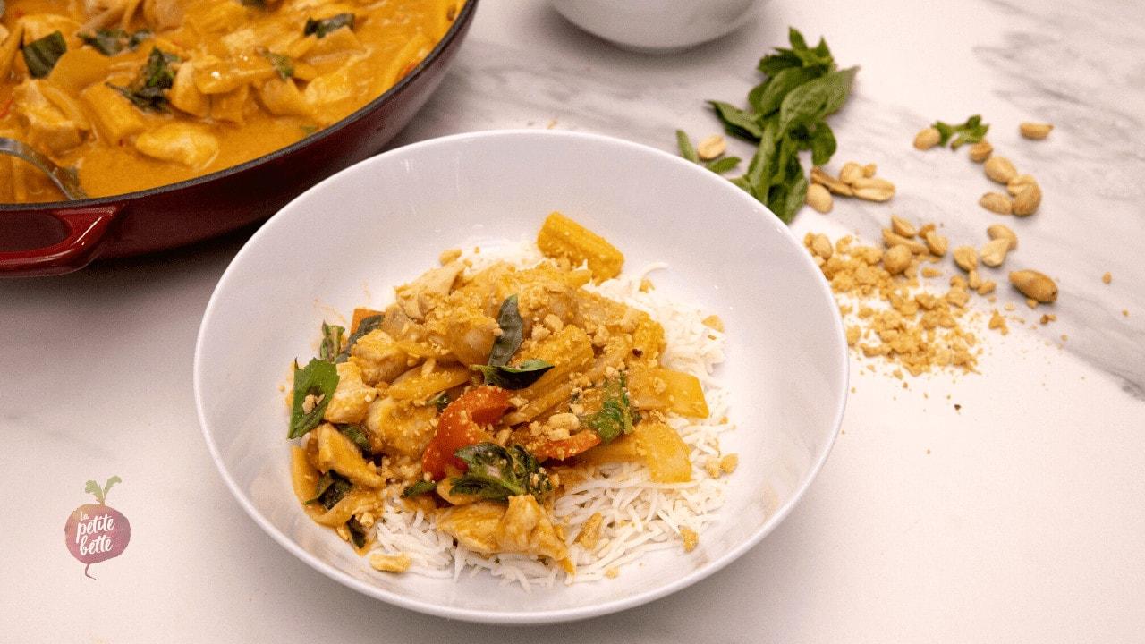 Curry thai cacah