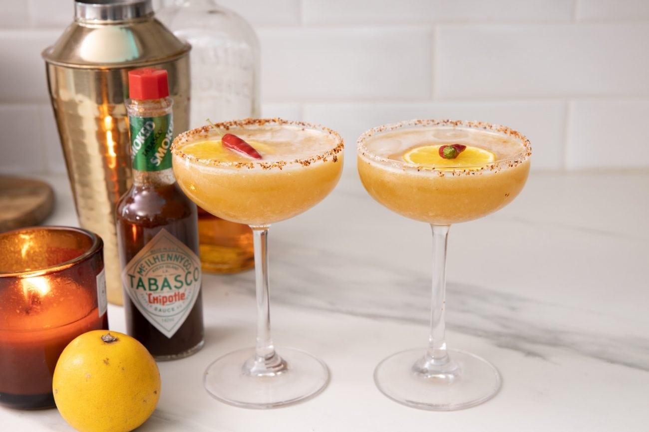 Chipotle Bourbon Sour, le cocktail pour mettre le feu à 2020