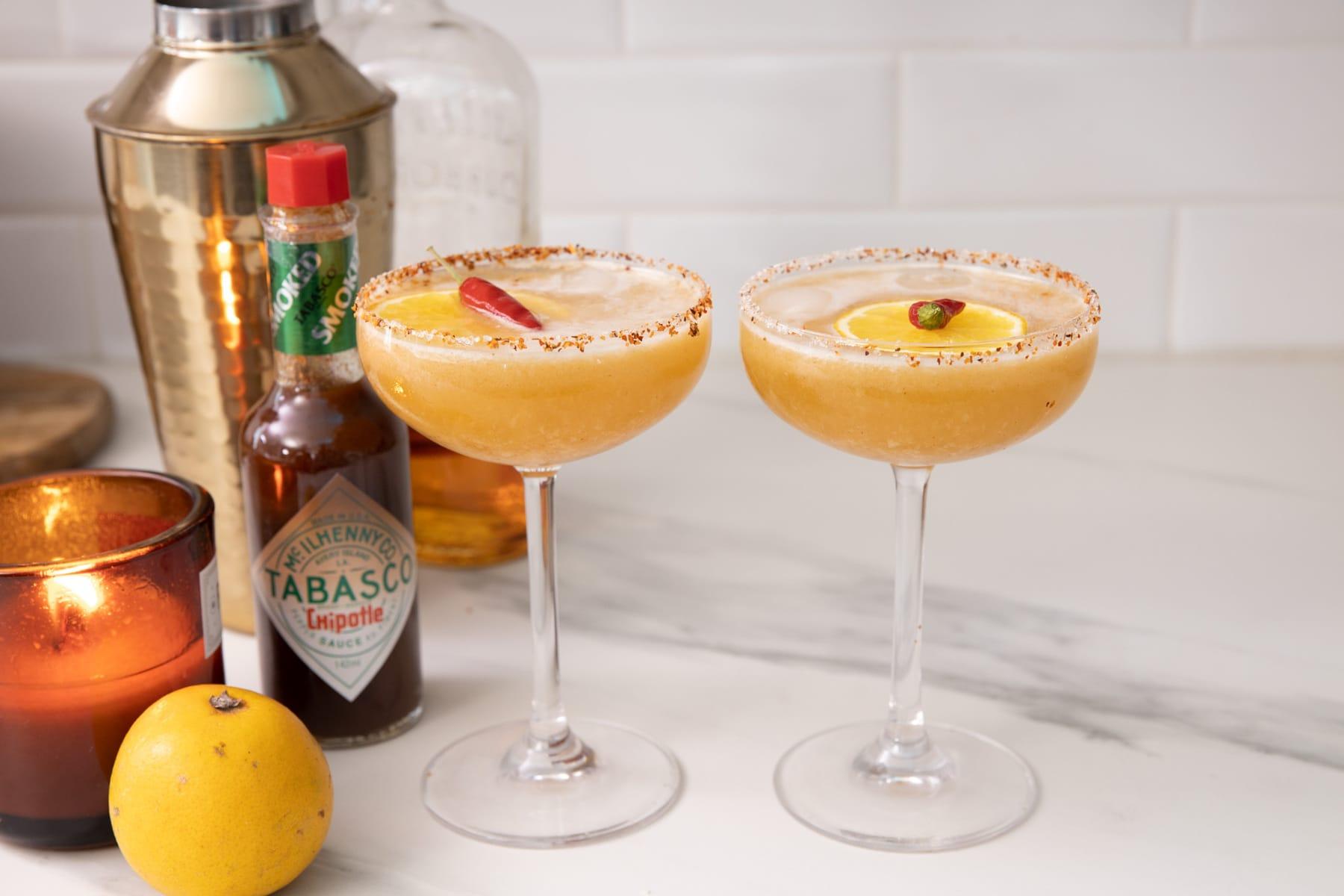 Cocktail fin d'année Tabasco petite bette
