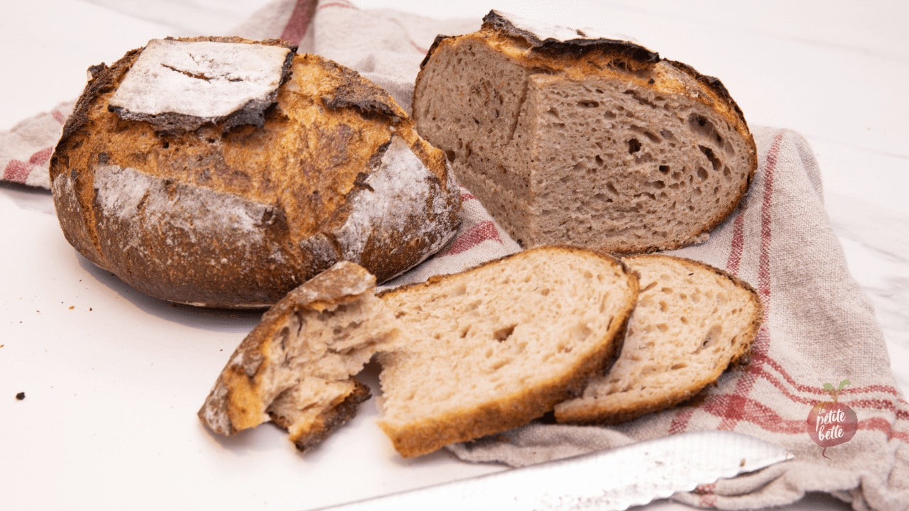 pain maison aux pommes de terre