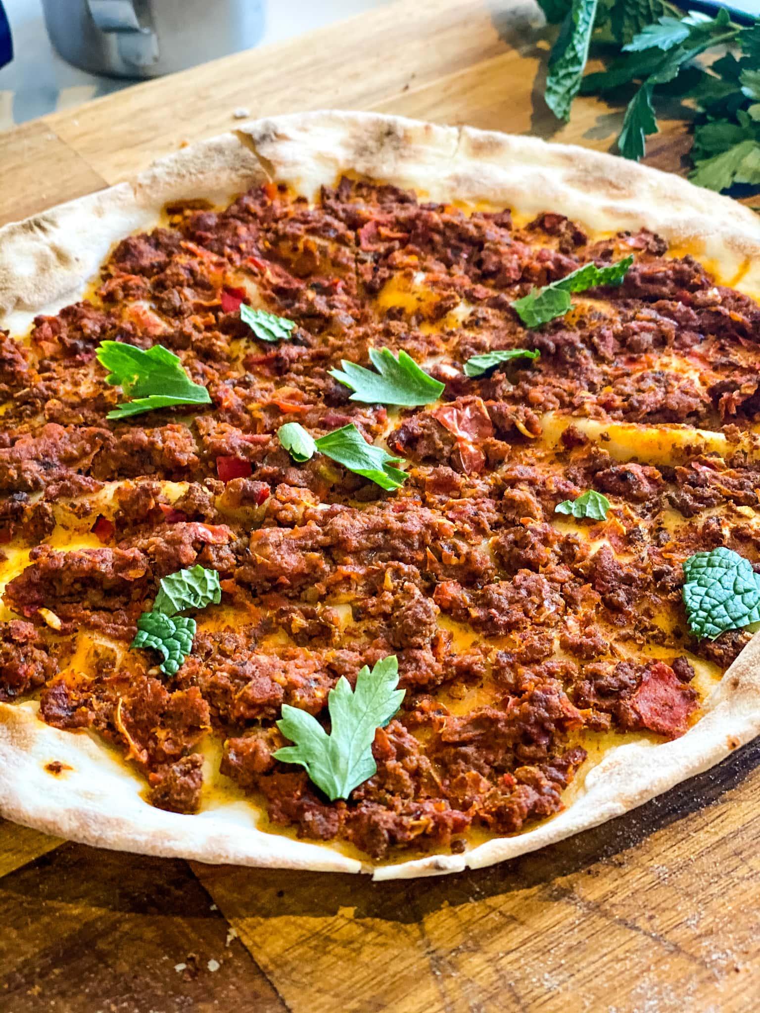 Yves veggie pizza turque