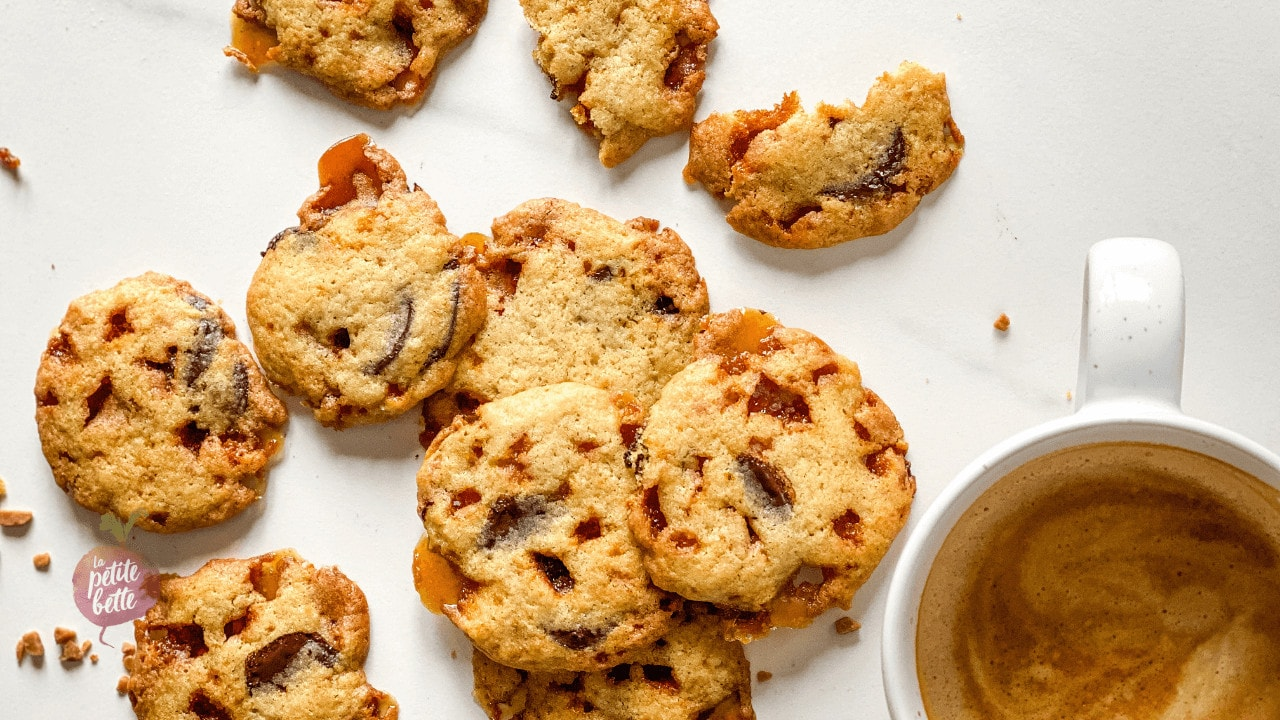 biscuits caramel choco